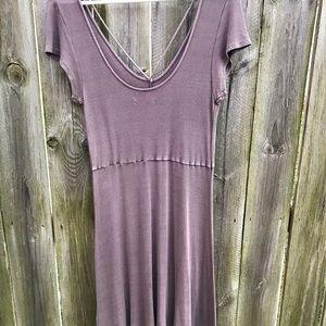 🌸American Eagle Lavender Cut Out Dress